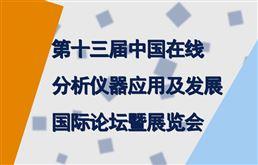 第十三屆中國在線分析儀器應用及發展國際論壇暨展覽會